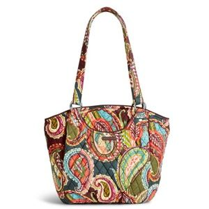 Vera Bradley Glenna Shoulder Bag Heirloom Paisley